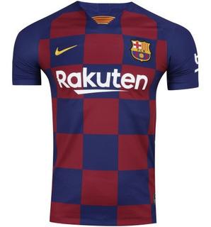 Camisa Barcelona 2020 Amarela 100% Original Envio Imediato