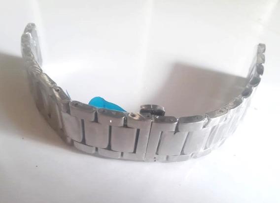 Pulseira Em Aço Inoxidável Para Relógio Masculino