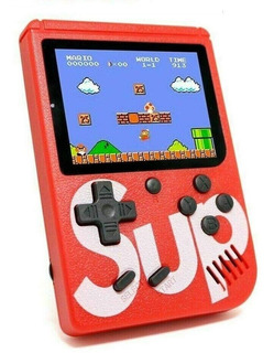 Mini Consola Portatil Sup Game Box 400 Video Juegos Colores