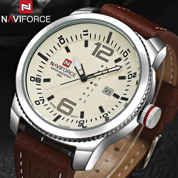 Relógio Naviforce Modelo 9063 Original + Um Lindo Estojo