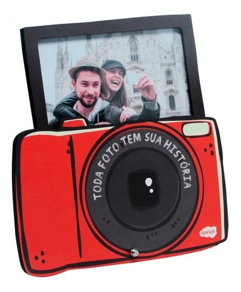 Porta Retrato Mdf Personalizado Modelo Câmera 10x15