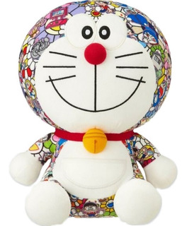 Peluche Doraemon Detalles Bordados 36 Cm