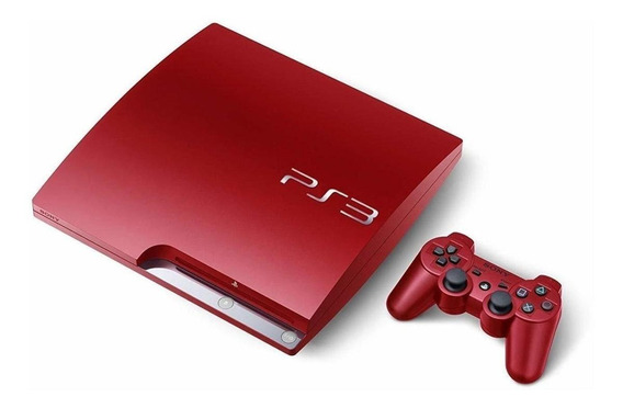 Sony PlayStation 3 Slim 320GB Standard scarlet red