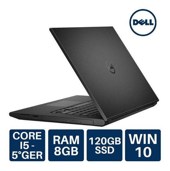 Notebook Dell Usado Intel Core I5 8gb Ram + 120gb Ssd