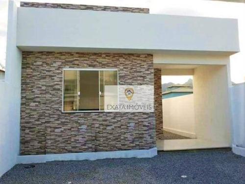 Imagem 1 de 14 de Casa 3 Quartos Linear, Maria Turri, Rio Das Ostras. - Ca0942