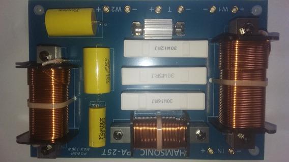 Divisor De Frequências 2 Vias 700 Watts 2 Fala Freq. 3800hz