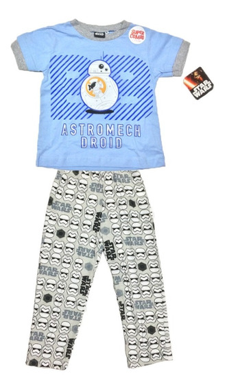 Pijama Bb-8 Star Wars Original Para Niño The Force Awakens