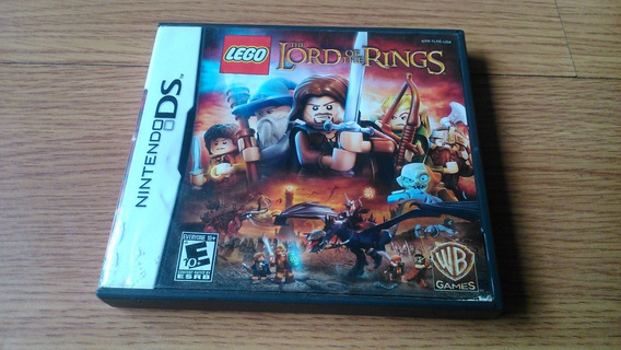 Nintendo Ds - Lego The Lord Of The Rings - Original