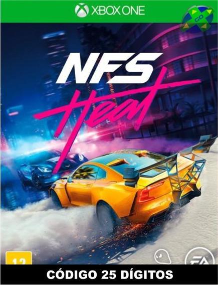 Need For Speed Heat Xbox One - Código 25 Dígitos