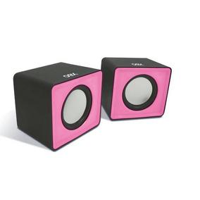Caixa De Som Sk102 Speaker Cube 3w Notebook Rasa Oex
