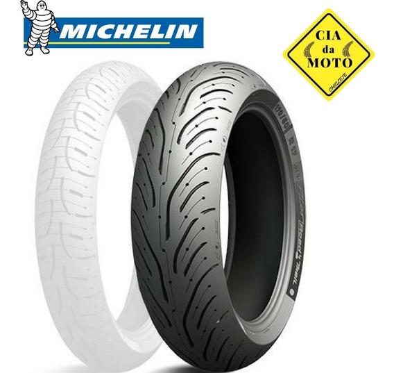 Pneu Michelin Pilot 180 55 17 Road 4 Hornet E Ninja Moto