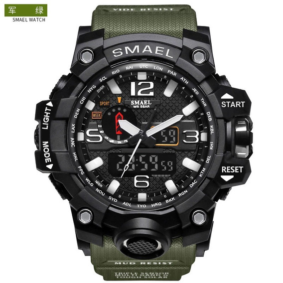 Reloj Militar Smael S Shock Táctico Sumergible Envio Gratis