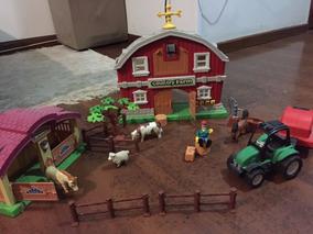 Brinquedo Fazendinha (farm Country) C/ Som E Acessórios