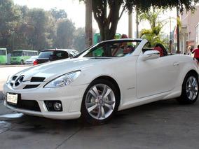 Mercedes Benz //slk 200 Kompressor//2011 Seminuevo!! Piel