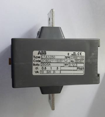 Transformador De Corriente Abb 250/5a