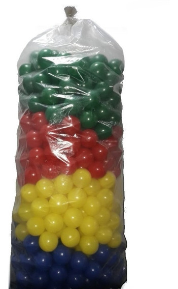 Bolinhas Para Piscina 500 Und. 76mm Play Brinquedo