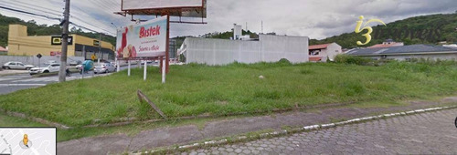 Terreno Proximo Ao Giassi Supermercado, Com 1.367m² Para Construção No Bairro Fazenda, Itajaí Sc - Te0123