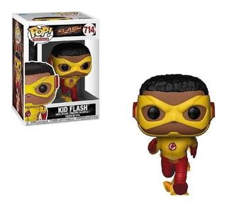 Funko Pop Kid Flash 714 The Flash Fastest Man Alive Original