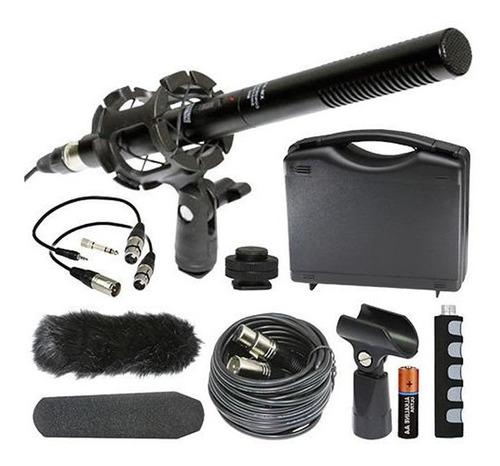 Vidpro Xm-55 Set De Microfono Boom Condensador Con Accesorio
