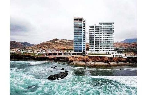 Condominio Penthouse En Venta Rosarito, Club Marena Seahouz. De Super Lujo Y Alta Calidad En Diseños Y Acabados, Frente Al Mar Con Acceso A Playa. Con Amenidades.