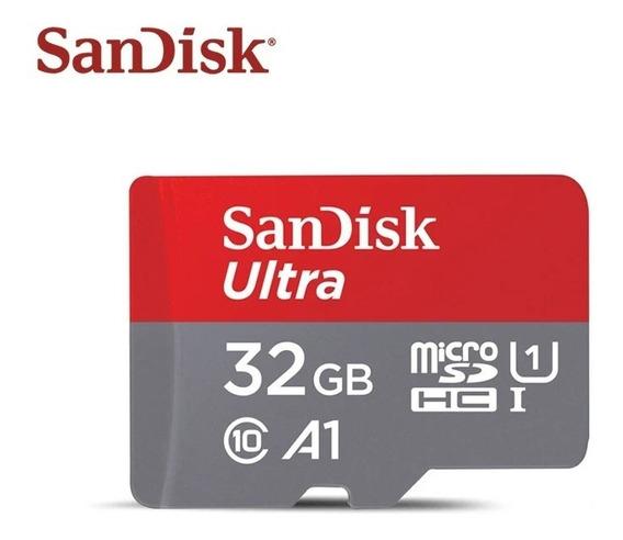 Cartão De Memória Sandisk Sdsquar-032g Ultra Envio Imediato