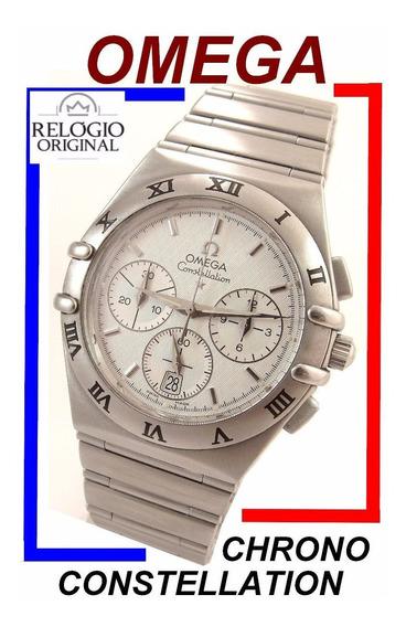 Espetacular Omega Constellation Chronograph Aço-aço !!!