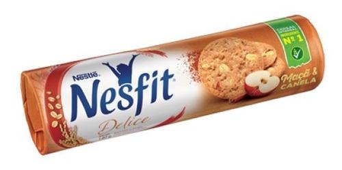 Biscoito Maça Com Canela Nesfit 140grs
