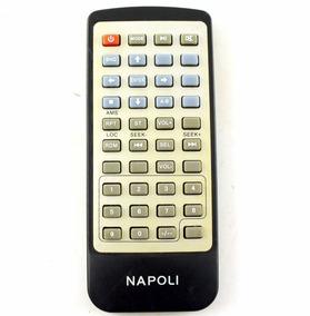Controle Remoto Napoli Multimidia Usado Original A8338