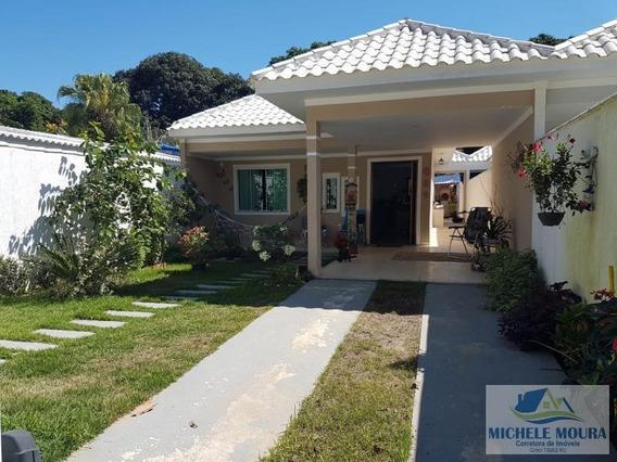 Casa Para Venda Em Araruama, Praia Do Hospicio, 3 Dormitórios, 1 Suíte, 2 Banheiros - 73_2-238256