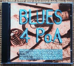 Cd Blues 4 Poa - 4 Bandas De Blues De Porto Alegre