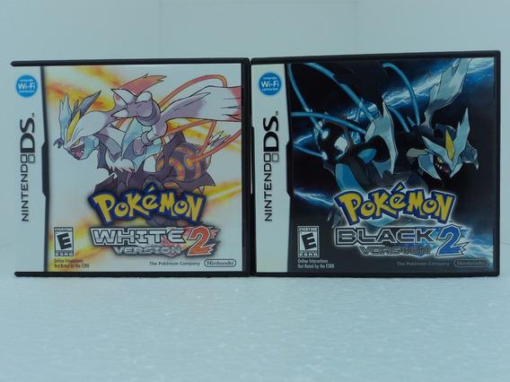 Pokemon White 2 + Pokemon Black 2 - Original E Completo!!!