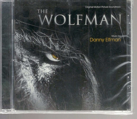 Cd The Wolfman - Importado Dos Eua - Bonellihq Cx45 E19