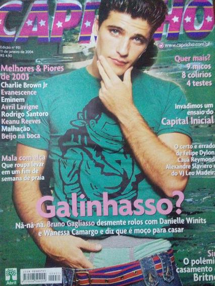 Revista Capricho N. 931 Bruno Gagliasso, Britney, Capital
