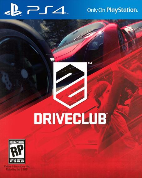 Drive Club Ps4 Psn Original 1 Midia Digital Primaria