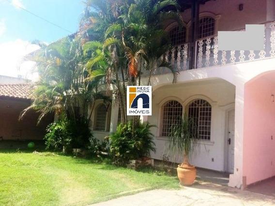 Casa Com Habite-se, No Santa Inês, Estilo Colonial, 02 Pavimentos, Em Localização Privilegiada No Bairro, Lote 427m² - 1354