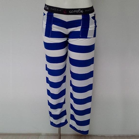Pantalones Pijamas Para Damas Marca Doce 04 Colec Alta Mar