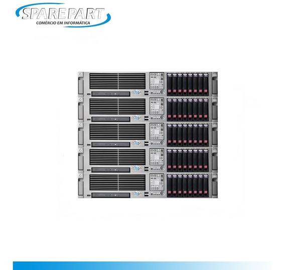 Servidor Hp Dl380 G5 Quadcore 2.3ghz 32gb 2x146gb 3x600gb Nf