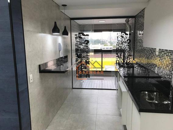Apartamento Com 2 Dormitórios À Venda, 70 M² Por R$ 550.000,00 - Vila Regente Feijó - São Paulo/sp - Ap0114