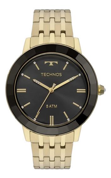 Relógio Feminino Technos Dourado Vh31aab/4p