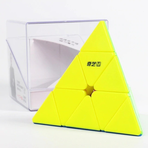 Pyraminx Qiyi Ms Magnético Colorido Cubo Mágico Pirâmide