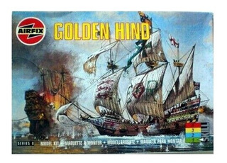 Golden Hind Escala 1/72 Airfix 00264