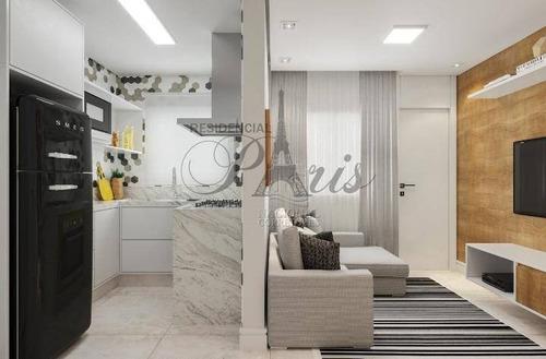 Sobrado Com 2 Dormitórios À Venda, 60 M² Por R$ 330.000,00 - Vila Príncipe De Gales - Santo André/sp - So3976