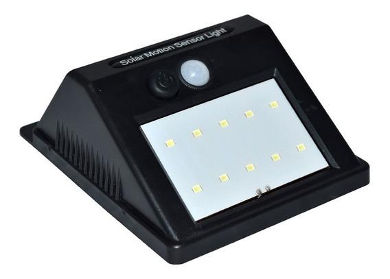 Lampara Energía Solar Led Sensor Interior O Exterior /e A