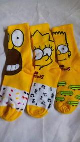 Calceton Simpsons 3pares Unitalla Adulto