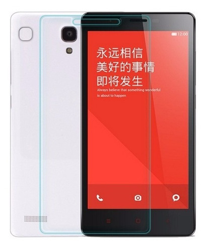 Imagen 1 de 3 de Protector Pantalla Vidrio Templado Xiaomi Redmi 2 Pro