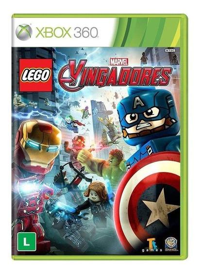 Lego Marvel Vingadores Xbox 360 Mídia Física Novo Lacrado