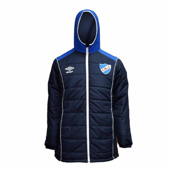 Camperón Parka Azul Marino Umbro Club Nacional De Football