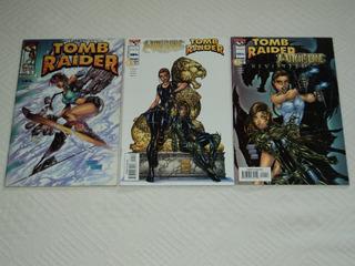 Tomb Raider Witchblade Hq Importada Image Top Cow Comics