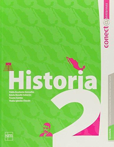 Libro Secundaria: Conect@ Entornos. Historia. Vol. 2