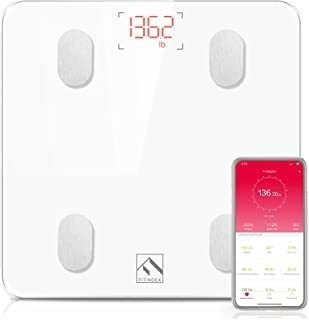 Bluetooth Body Fat Scale, Fitindex Smart Wireless Digital Ba